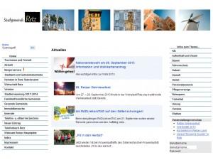 Tourismusinformation Retz