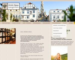 Tourismusinformation Ursin Haus - Langenlois