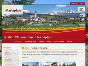 Tourismusverband Mariapfarr im Lungau