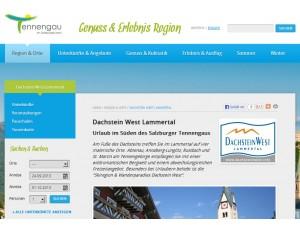 Tourismusregion Dachstein West - Lammertal
