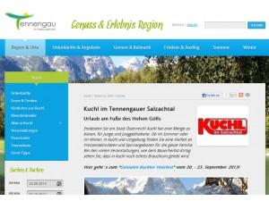 Tourismusverband Kuchl im Tennengauer Salzachtal