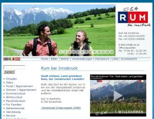 Tourismusbüro Rum bei Innsbruck