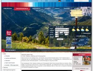 Ötz Informationsbüro - Urlaubsregion Ötztal