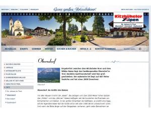 Oberndorf in Tirol Tourismusbüro - Ferienregion Kitzbüheler Alpen