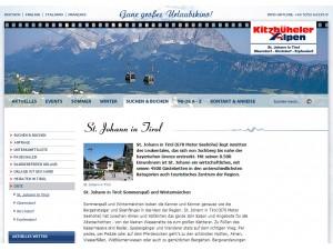 St. Johann in Tirol Tourismusinformation- Ferienregion Kitzbüheler Alpen