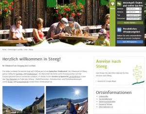 Steeg Informationsbüro - Urlaubsregion Lechtal