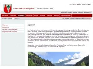 Tourismusinformation Außervillgraten