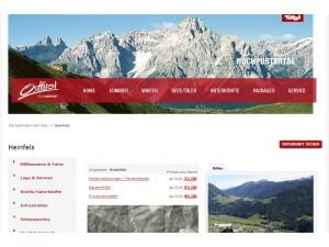Urlaubsregion Heinfels in Osttirol - Tourismusinformation