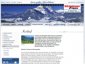 Kirchdorf in Tirol Tourismusbüro - Ferienregion Kitzbüheler Alpen