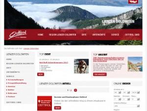 Lienzer Dolomiten Informationsbüro - Urlaubsregion Osttirol