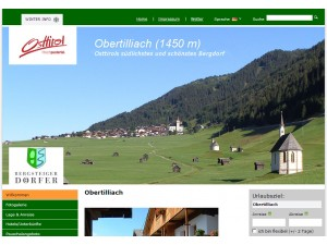 Tourismusinformation Obertilliach  - Urlaubsparadies Osttirol