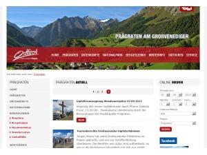 Prägraten am Großvenediger Tourismusinformation - Nationalparkregion - Osttirol