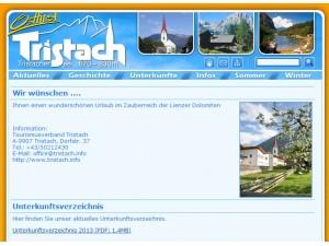 Tourismusinformation Tristach in Osttirol