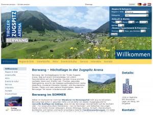 Berwang Tourismusbüro - Tiroler Zugspitz Arena