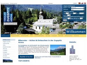 Biberwier Tourismusbüro - Tiroler Zugspitz Arena