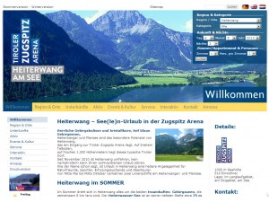 Heiterwang Tourismusbüro - Tiroler Zugspitz Arena