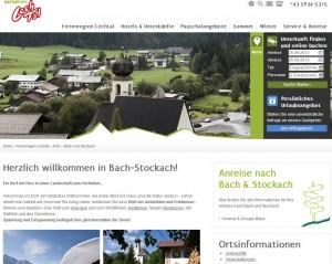 Tourismusbüro Bach-Stockach im Lechtal