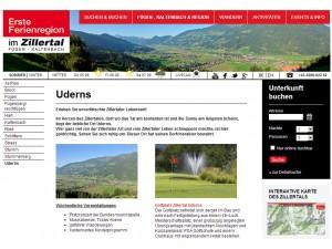 Uderns - Erste Ferienregion im Zillertal