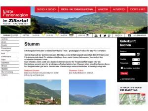 Stumm - Erste Ferienregion im Zillertal