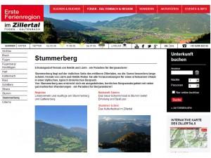 Stummerberg - Erste Ferienregion im Zillertal