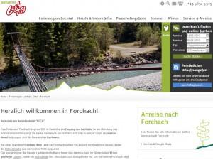 Forchach im Lechtal - Urlaubsregion
