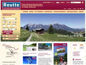 Tourismusinformation Weißenbach -  Naturparkregion Reutte