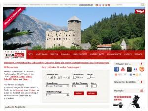 Landeck Tourismusinformation - Ferienregion Tirol West