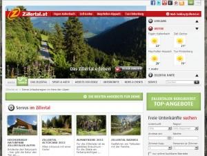 Zillertal Urlaubsregion