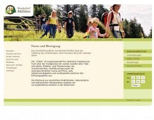 Wanderdorf Mühlen Tourismusinformation