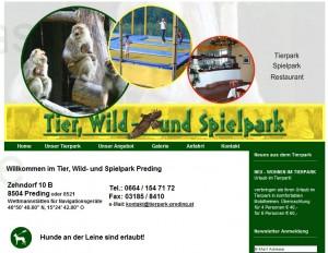 Tierp, Wild- und Spielpark Preding