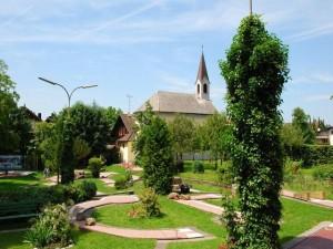 Minigolf beim Gasthof Grüner Baum