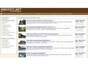 Inserate.net, der neue Kleinanzeigen Marktplatz für Österreich