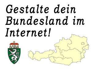 Gestalte das Bundesland Steiermark im Internet mit!