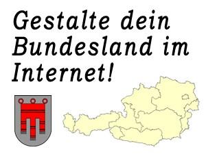 Gestalte das Bundesland Vorarlberg im Internet mit!