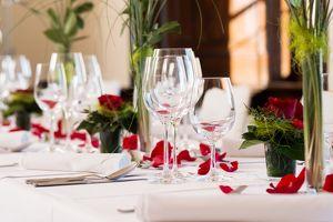 Valentinstags-Dinner