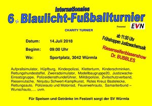 6.BLAULICHT-FUSSBALLTURNIER international