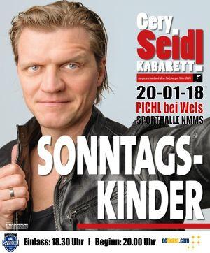 """Gery Seidl """"SONNTAGSKINDER"""""""