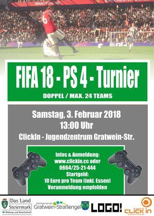 FIFA18 - PS4 - Doppel - Turnier