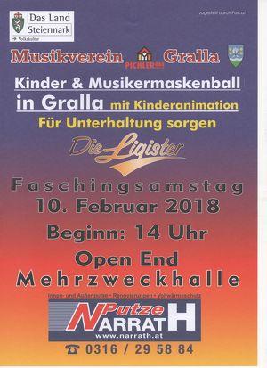 Kinder & Musikermaskenball
