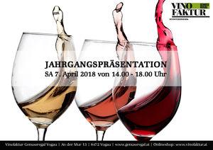 JAHRGANGSPRÄSENTATION in der Vinofaktur