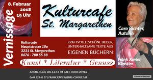 Vernissage im Kulturcafe Sankt Margarethen