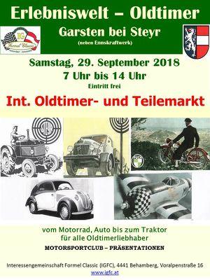 63. Int. IGFC Oldtimer- und Teilemarkt
