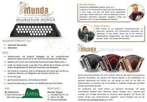 Info-Abend der Musikschule MUNDA (Oberkrainer Musik)