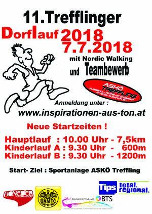 11.Trefflinger Dorflauf 2018