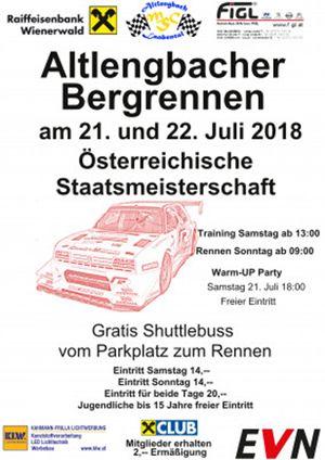 Altlengbacher Bergrennen - Österreichische Staatsmeisterschaft