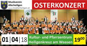 Osterkonzert Musikverein Allerheiligen