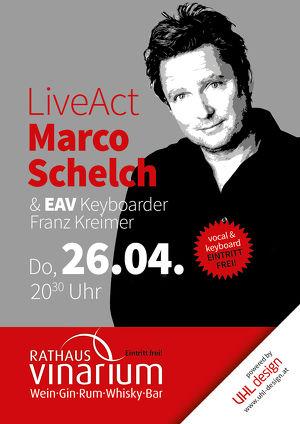 Marco Schelch & Franz Kreimer live im Rathaus Vinarium