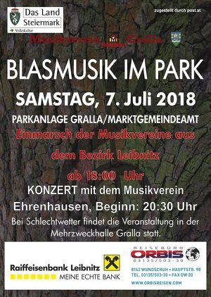 """""""Blasmusik im Park"""""""