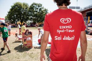 Die ESKIMO Spaß-Tour kommt in das Freibad Schattendorf!