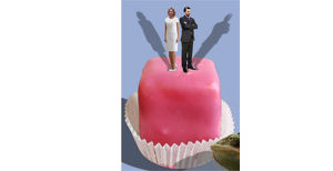 Die Scheidungsfeier